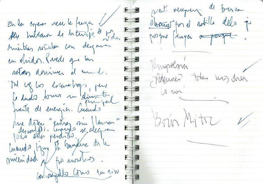 Texto manuscrito nº 15