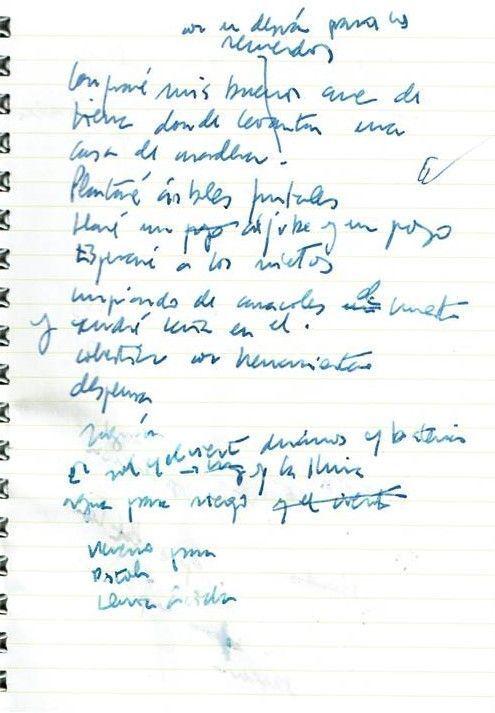 Texto manuscrito nº 16