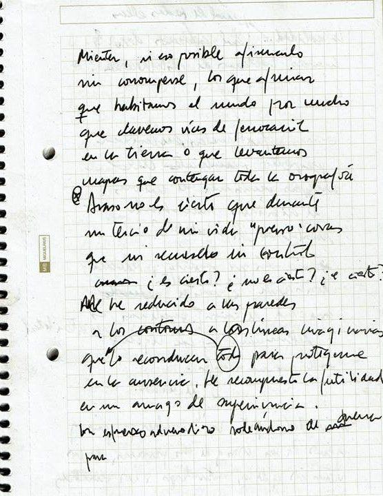 Texto manuscrito nº 17