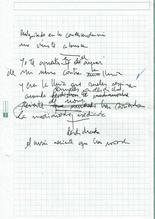 Texto manuscrito nº 20