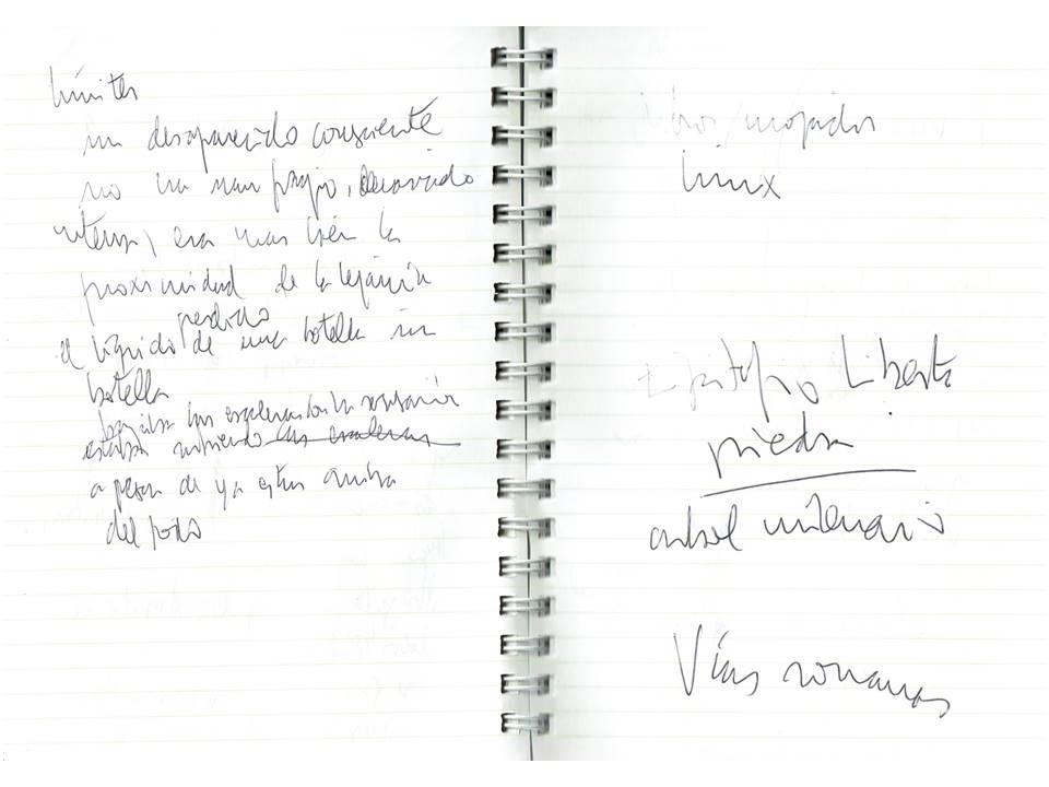 Resguardos de silencios Texto manuscrito nº 23