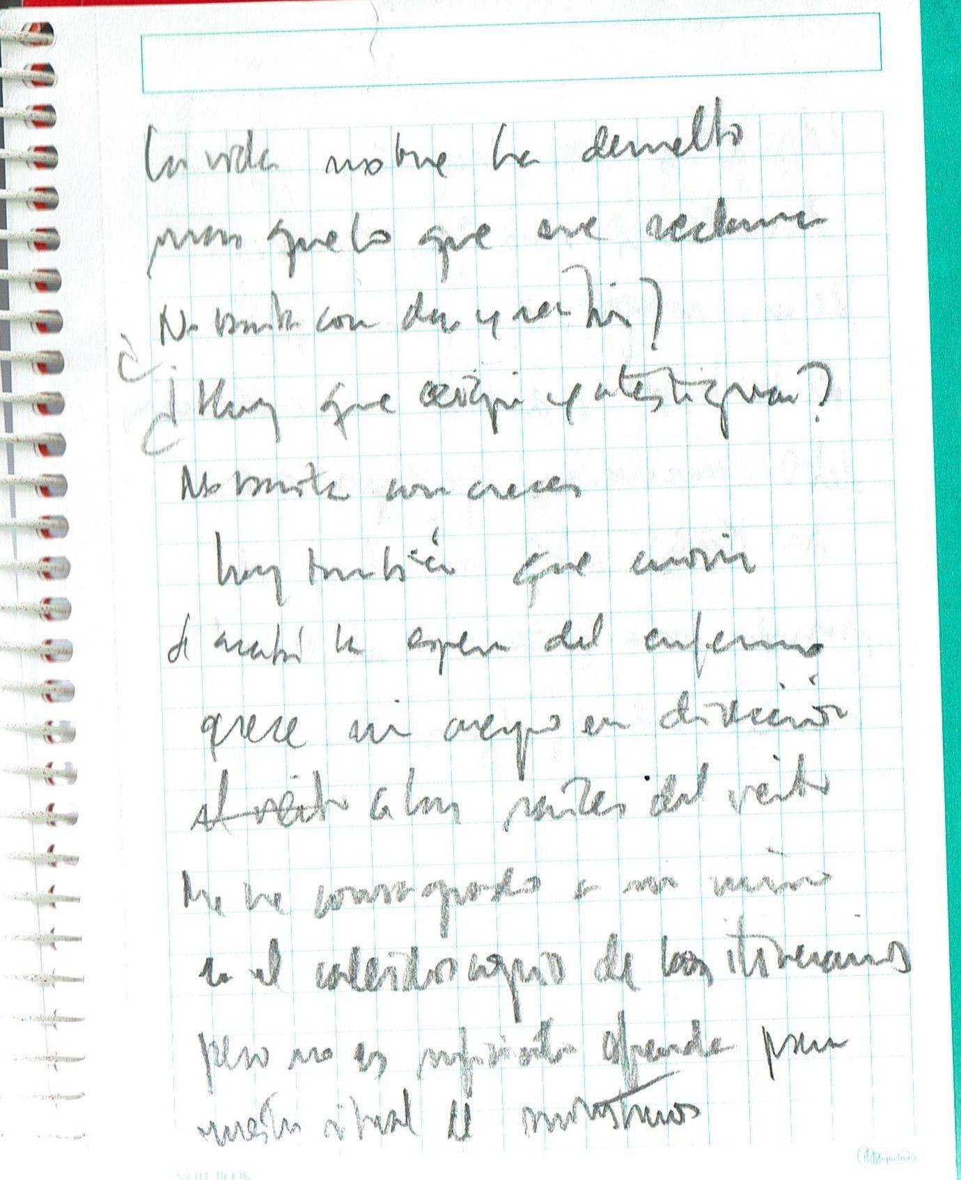 Texto manuscrito nº 33