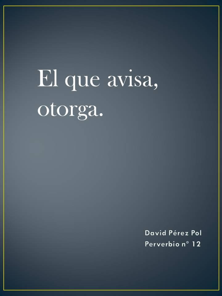 Preverbio nº 12