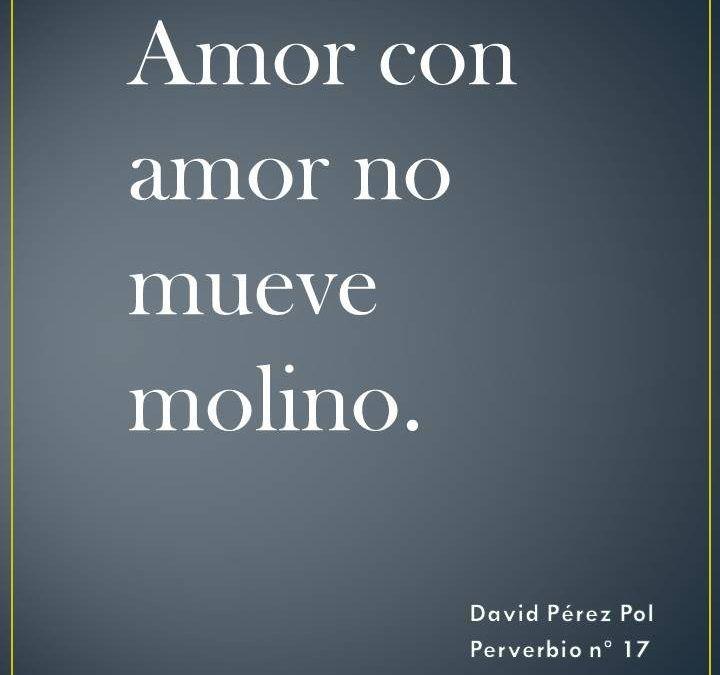 Amor con amor
