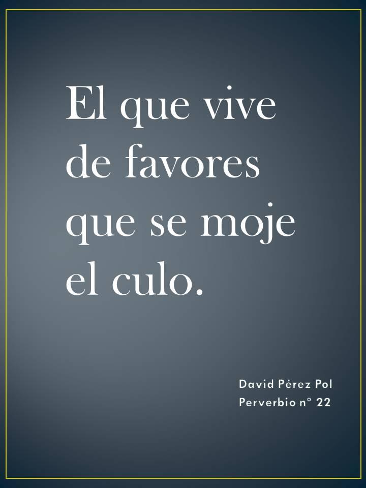 El que vive Preverbio nº 22 de David Pérez Pol
