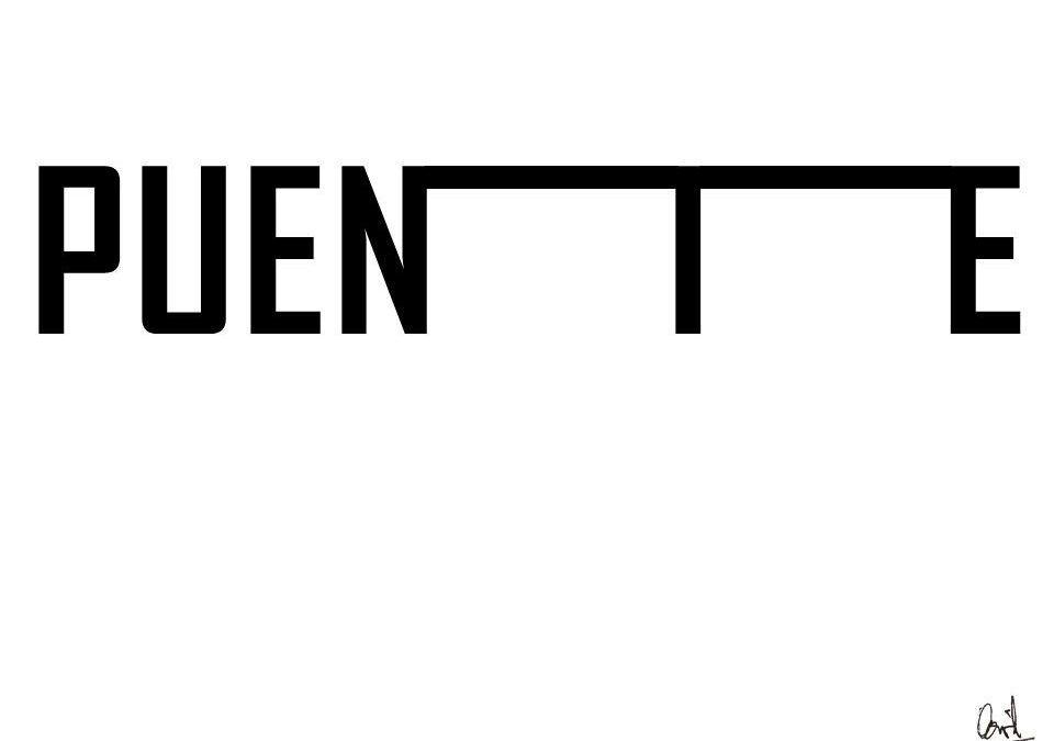Puente, caligrama