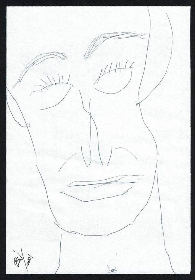 Retrato 1 dibujo