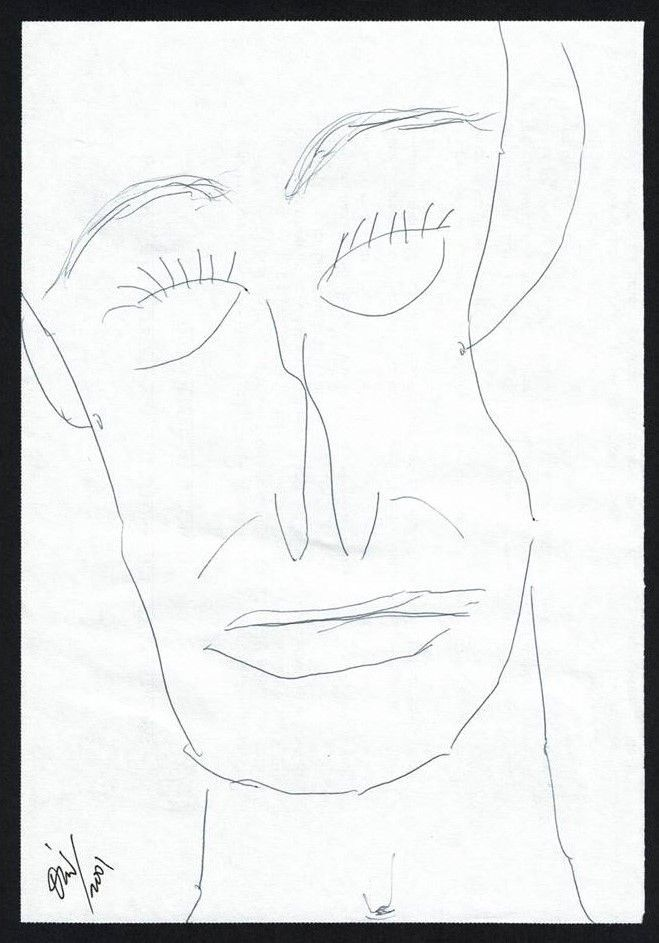 Retrato nº 1 (dibujo)