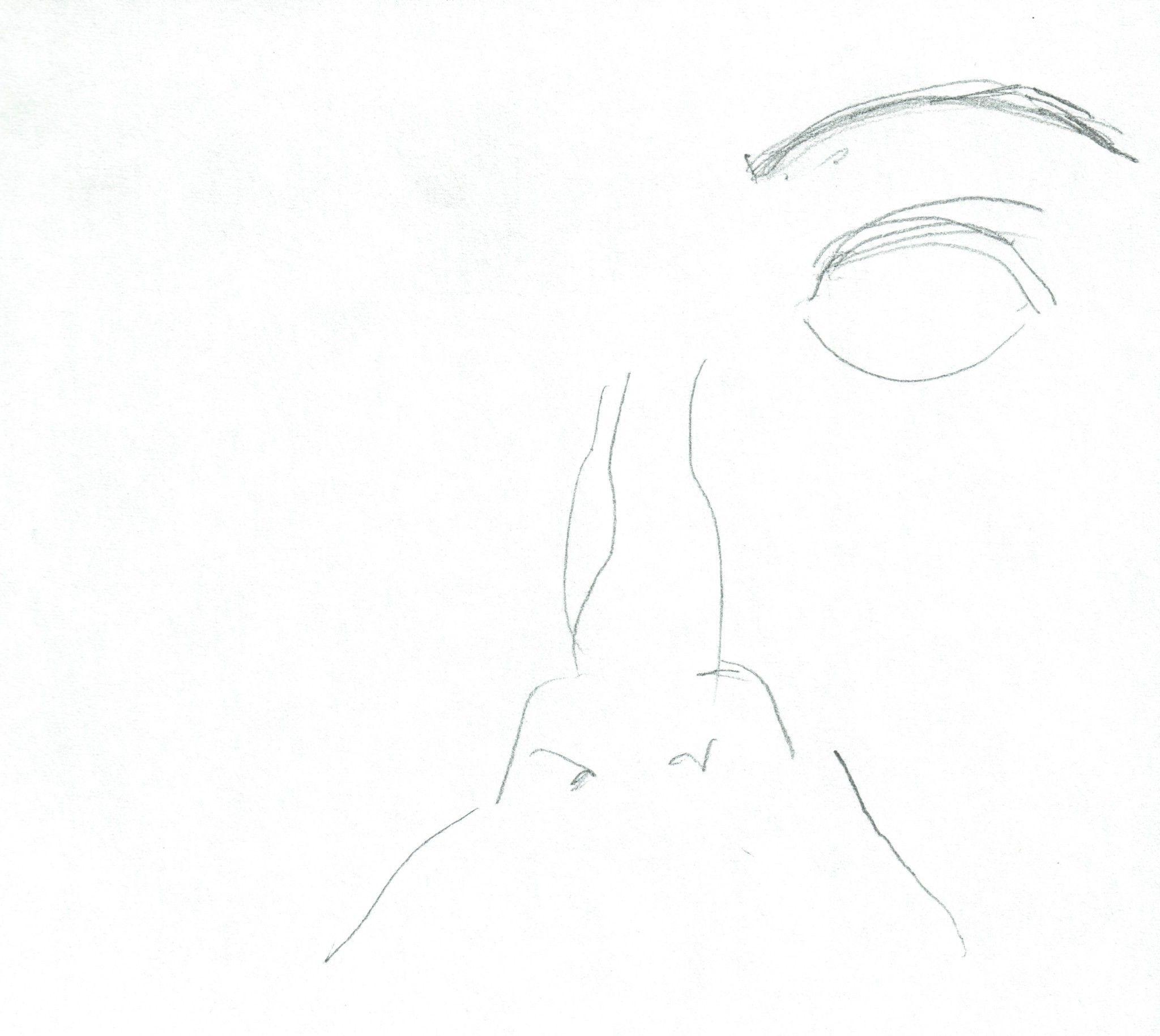 Retrato 2 dibujo