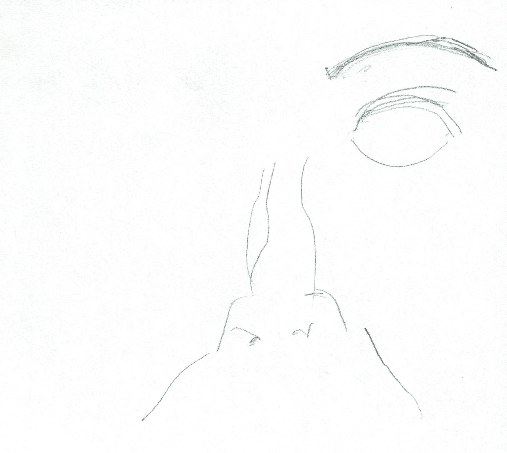 Retrato nº 2 (dibujo)