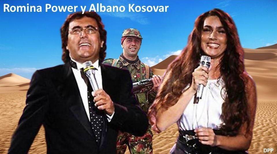 Romina Power y Albano Kosovar