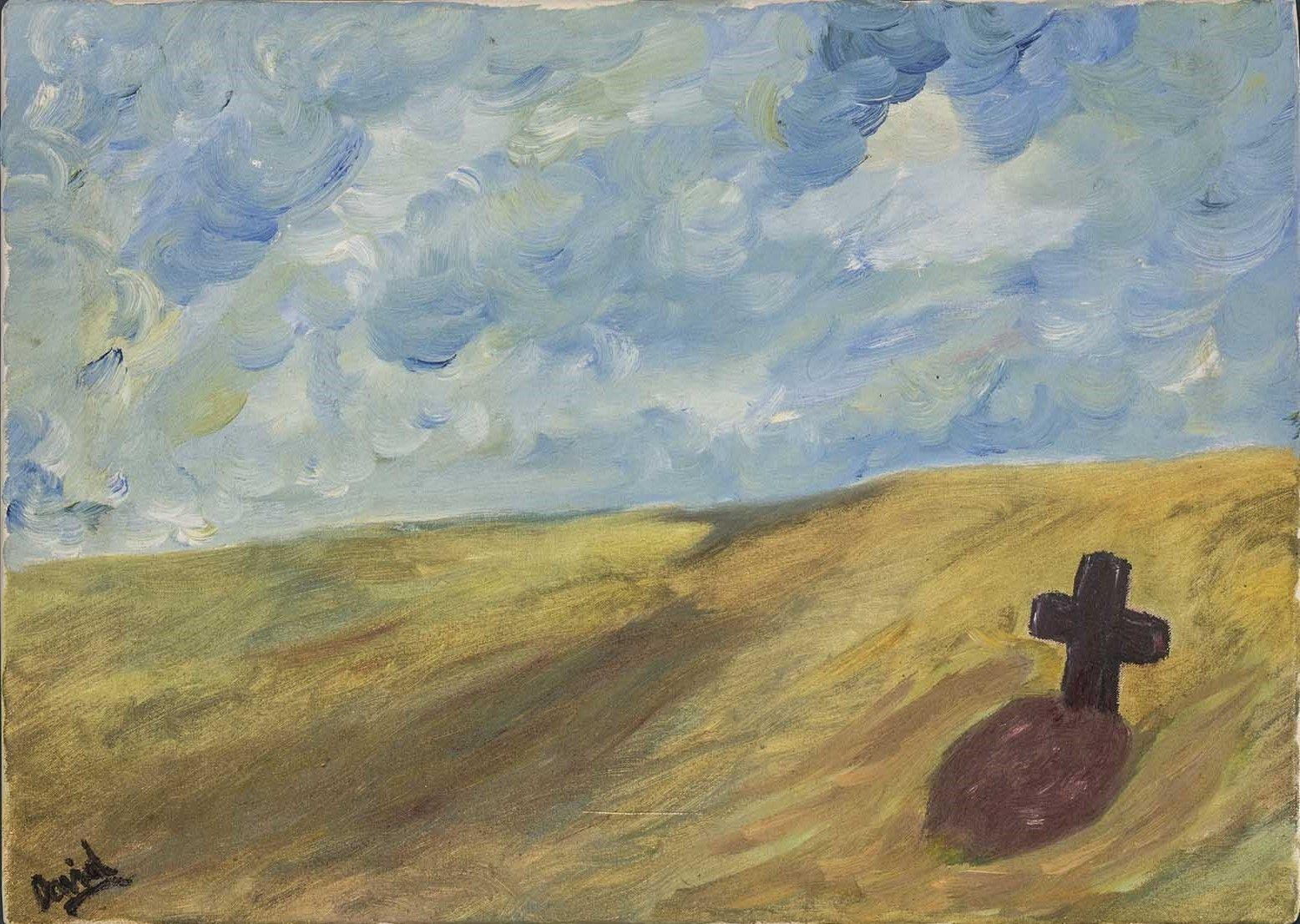 Último paisaje (pintura al óleo)