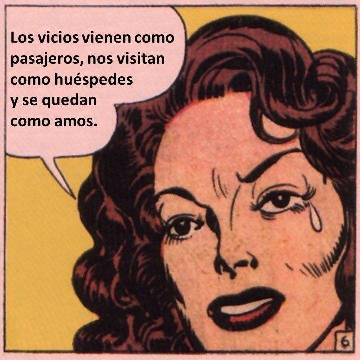 Los vicios vienen como Viñeta filosófica nº 19
