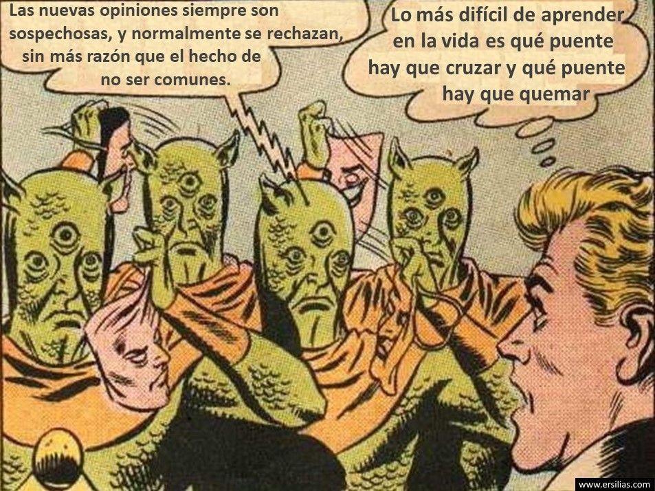 Las nuevas opiniones Viñeta filosófica nº 48 de David Pérez Pol