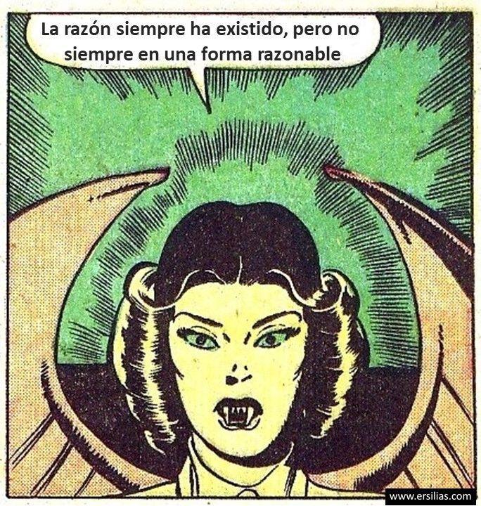 La razón siempre ha existido Viñeta filosófica nº 35 de David Pérez Pol