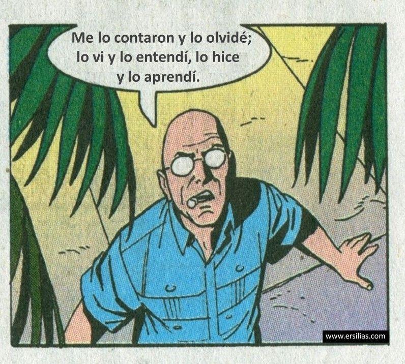 Me lo contaron Viñeta filosófica nº 61 de David Pérez Pol