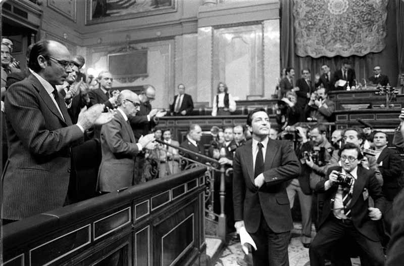 Discurso de investidura de Adolfo Suárez pronunciado el 30 de Marzo de 1979