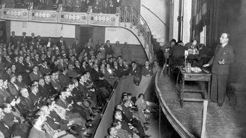 Discurso de José Ortega y Gasset sobre el Estatuto de Cataluña pronunciado en la Sesión de las Cortes del 13 de mayo de 1932