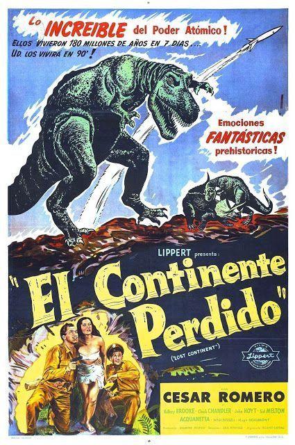 Efectos especiales películas de Ciencia Ficción con dinosaurios