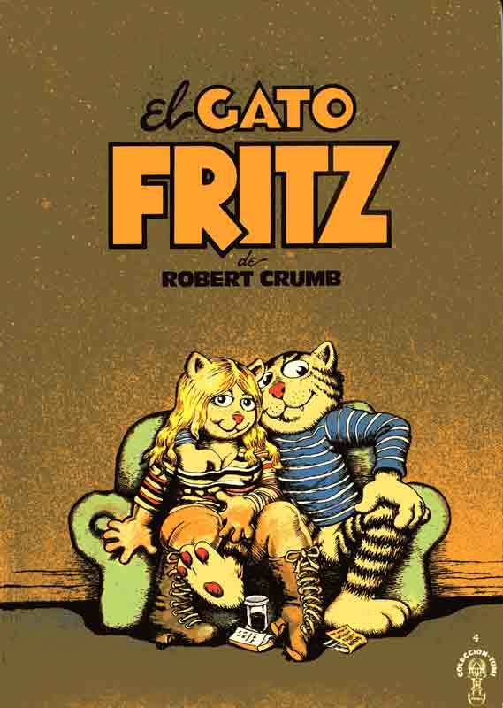 El gato Fritz de Robert Crumb, 1965