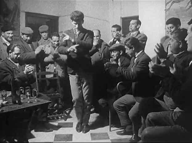 Flamenco en El Sacromonte de Granada en 1962