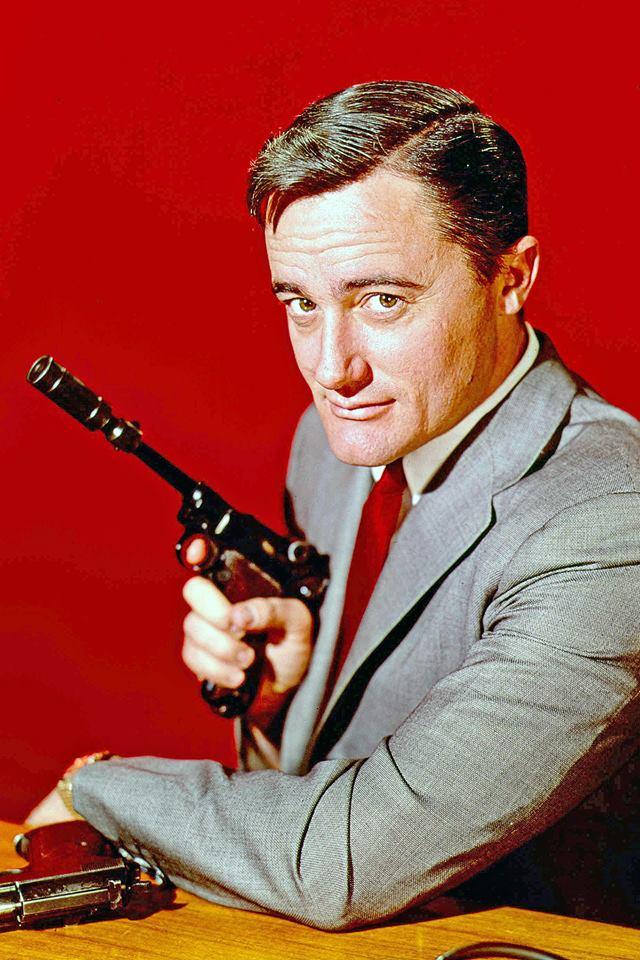 Napoleón Solo (Robert Vaughn) era El agente de CIPOL