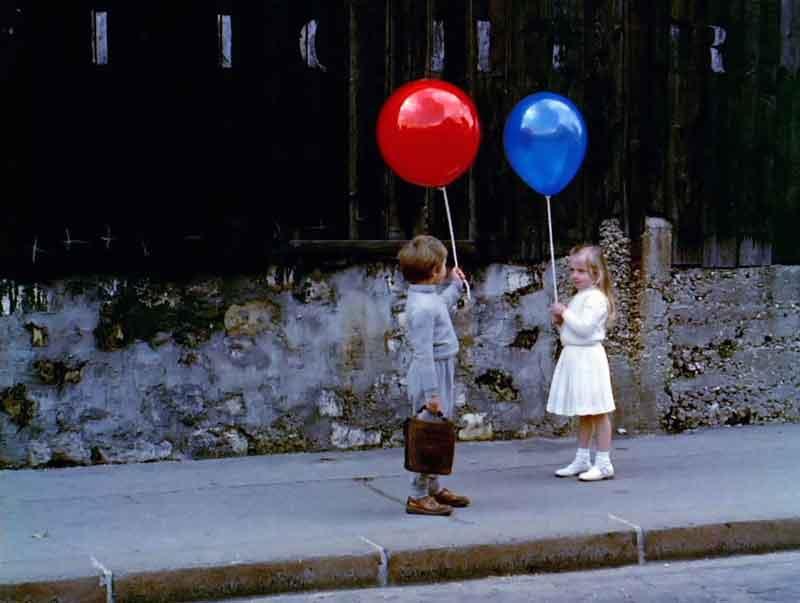 El globo rojo dirigida por Albert Lamorisse, 1956