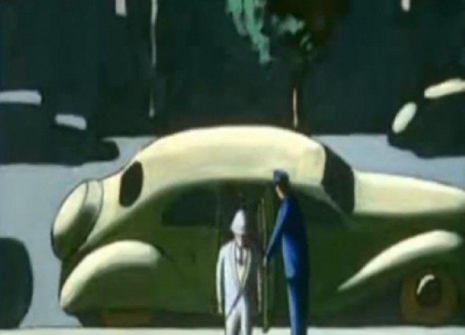 El hombre sin sombra dirigido por Georges Schwizgebel, 2004