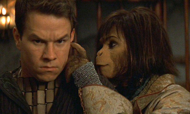 El planeta de los simios dirigida por Tim Burton, 2001