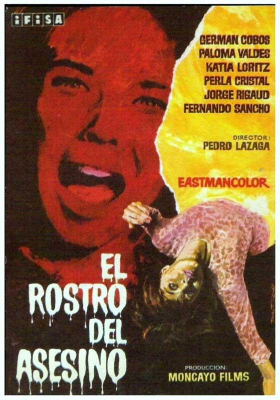 Anécdotas de la censura en el cine español - El rostro del asesino con Perla Cristal