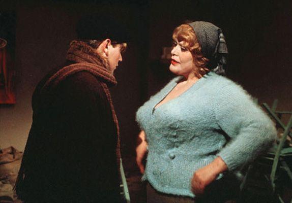 La estanquera de AMARCORD (Federico Fellini, 1973)