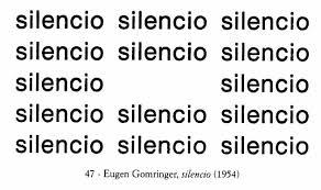 Eugen Gomringer, poeta visual