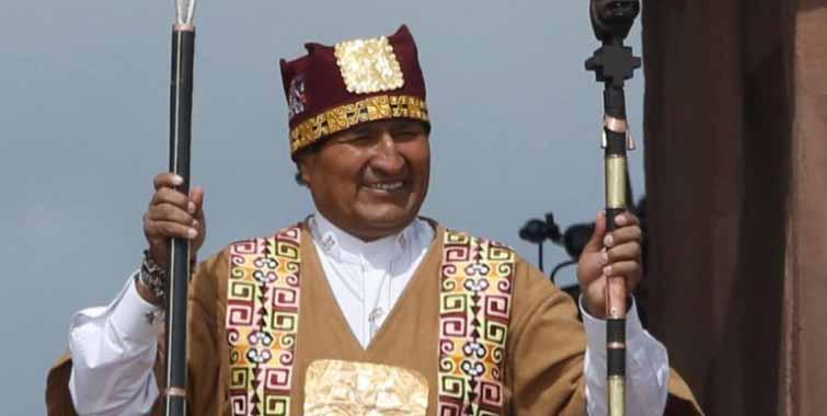 Discurso de investidura de Evo Morales