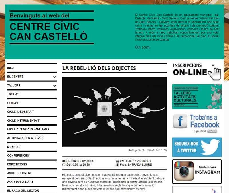 Exposición Centre Cívic Can Castelló
