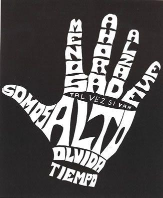 Poesía Visual de Fernando Millán