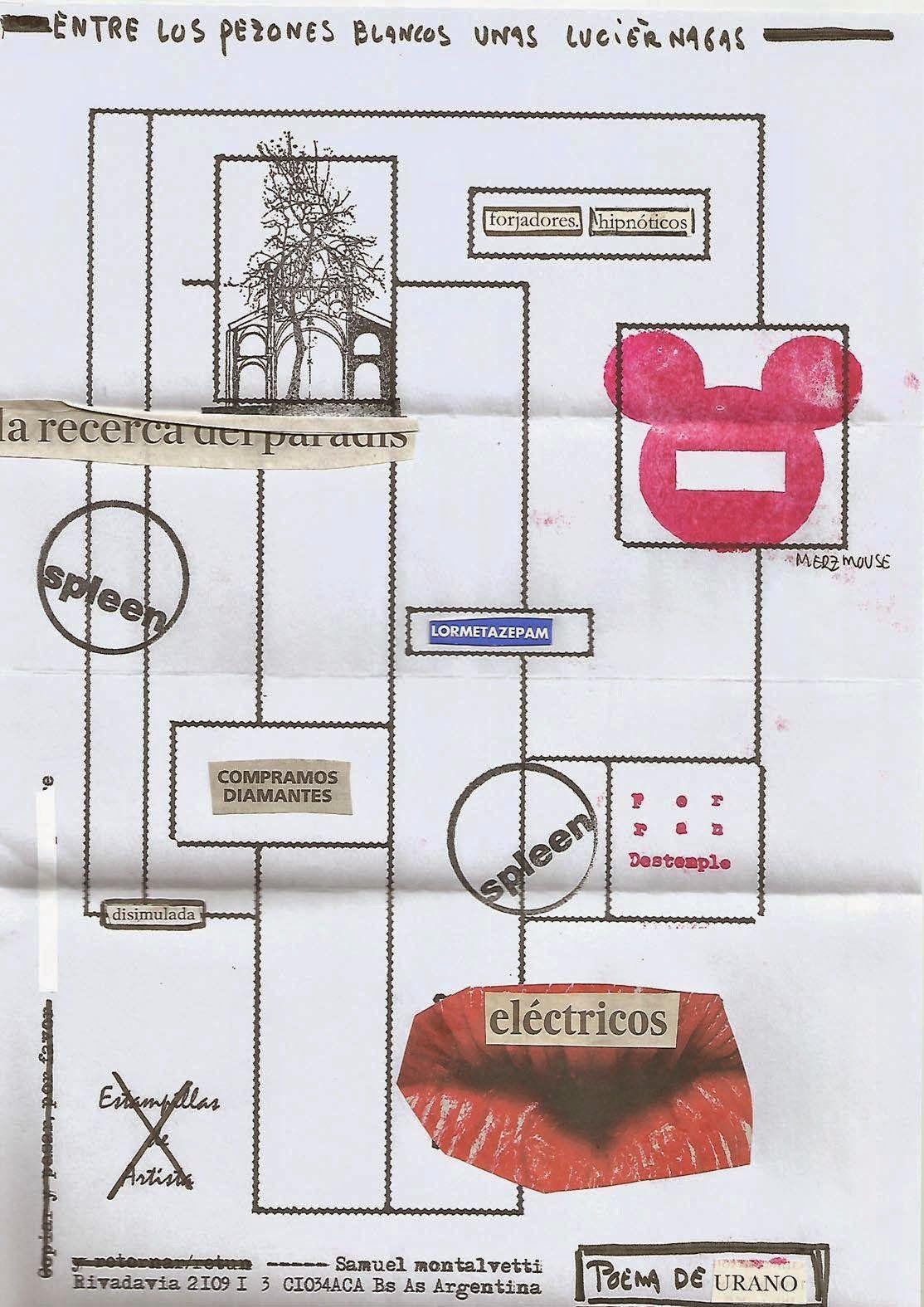 Poesía Visual de Ferran Destemple