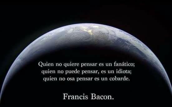 Filosofía de vida: Francis Bacon