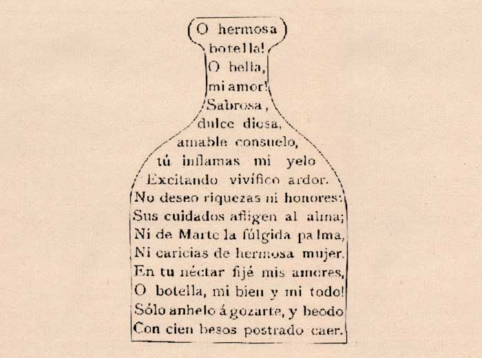 Poesía Visual de Francisco Acuña de Figueroa