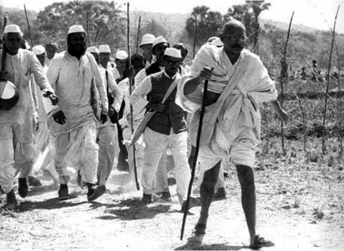 Discurso La marcha de la sal de Mahatma Gandhi