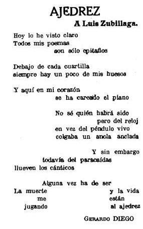 Gerardo Diego, poeta visual