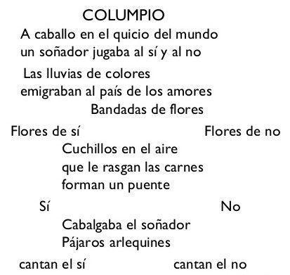 Poesía Visual de Gerardo Diego