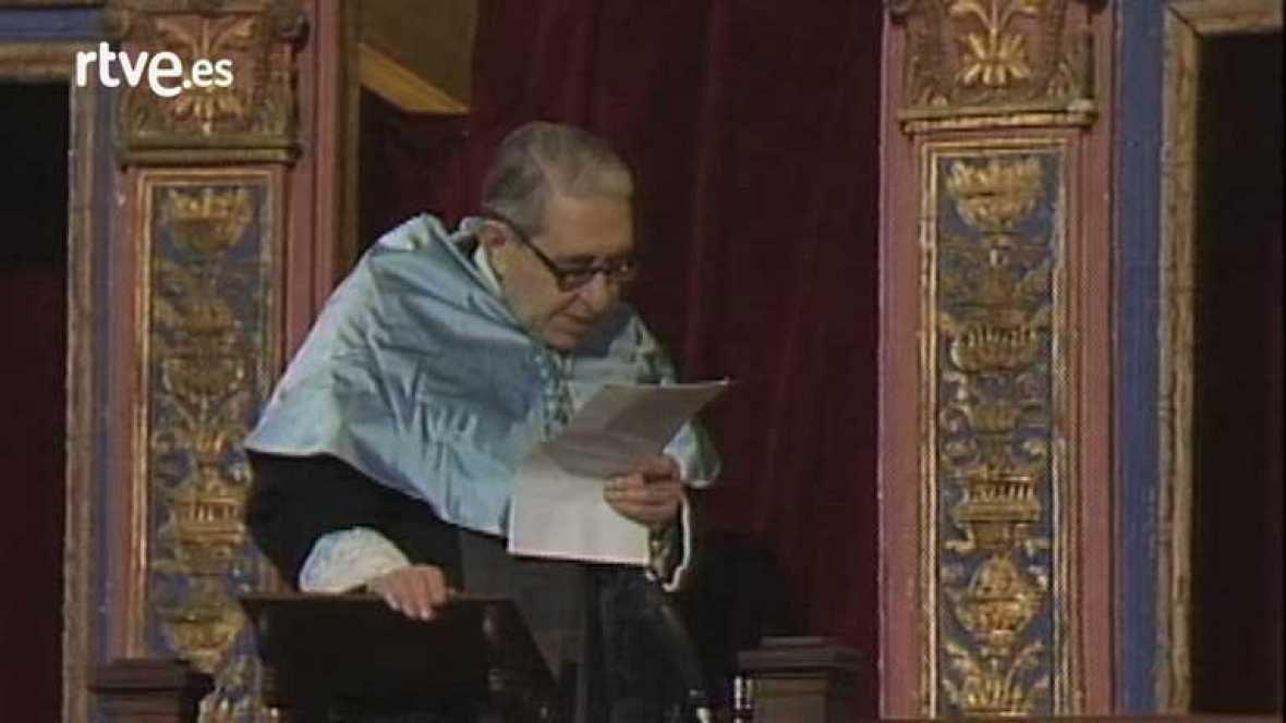 Discurso de Gonzalo Torrente Ballester al recibir el Premio Cervantes de 1985