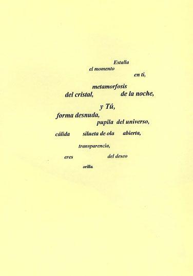 Poesía visual de Gustavo Vega Mansilla