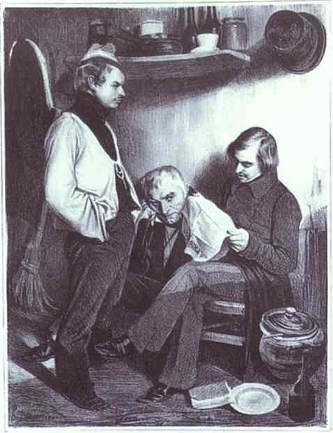 Obra de Honoré Daumier