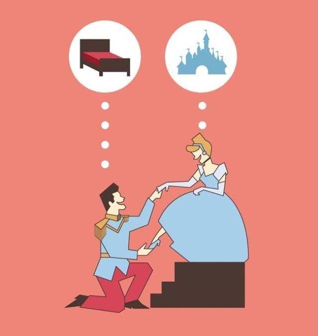 La Cenicienta de Cinismo ilustrado