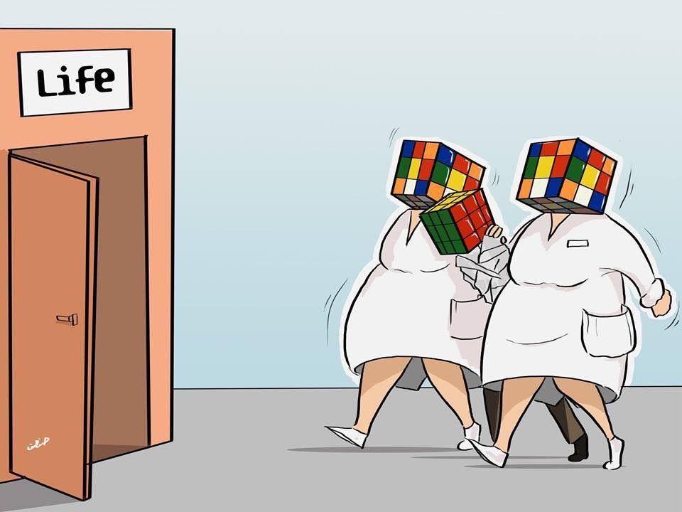 Life Rubik Humor Gráfico nº 174