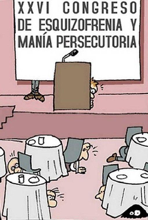 Congreso de esquizofrenia Humor Gráfico nº 180