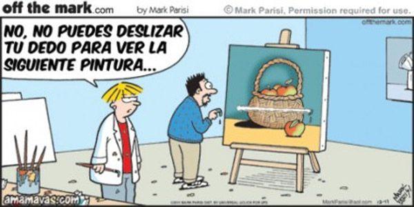 No puedes deslizar de Mark Parisi Humor Gráfico nº 181