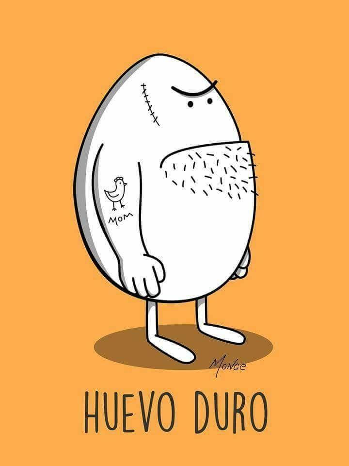 Huevo duro de Monge Humor Gráfico nº 89