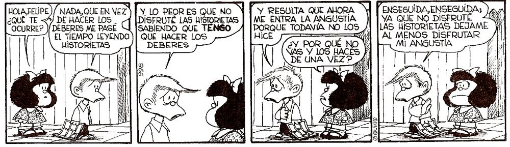Hola Felipe (Mafalda) de Quino
